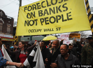 Occupy Movement Organizes Day Of Action Against Foreclosures In Multiple Cities